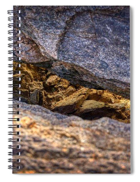 Lit Rock Spiral Notebook