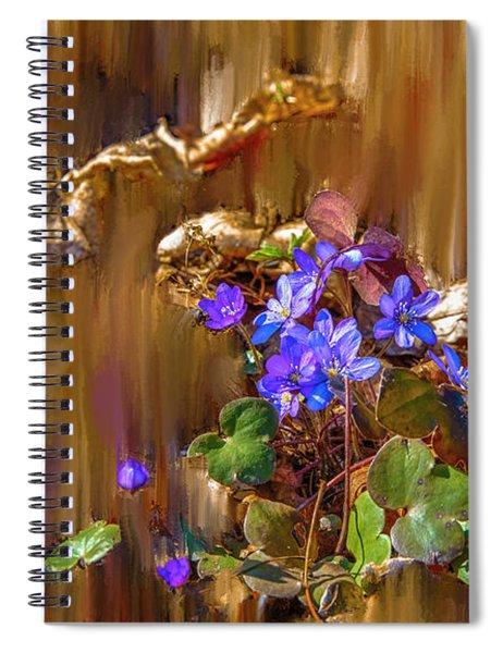 Little Blue #i6 Spiral Notebook