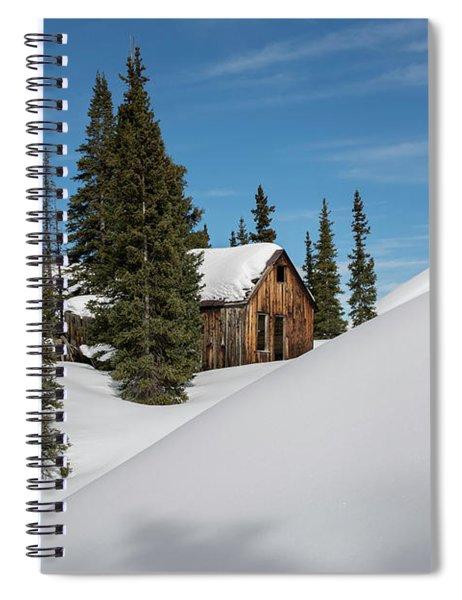 Little Cabin Spiral Notebook