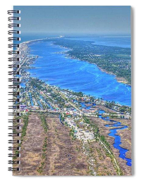 Little Lagoon 7489 Spiral Notebook