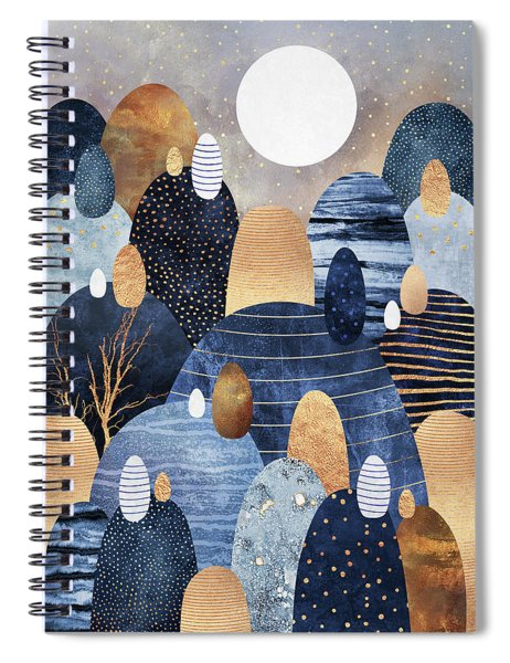 Little Land Of Pebbles Spiral Notebook