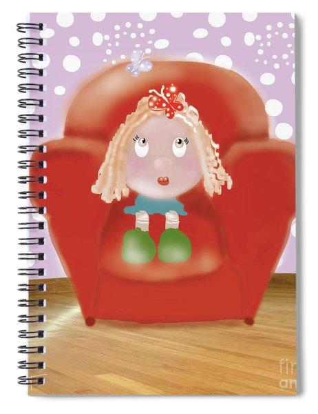 Little Ms Spiral Notebook