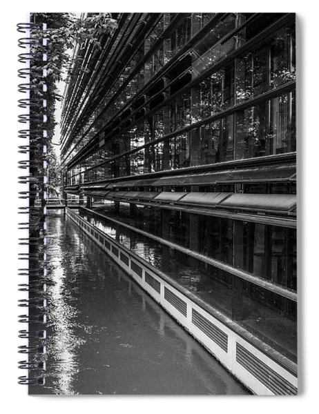 Little River, Big Building Spiral Notebook
