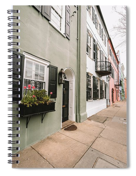 Live In Color Spiral Notebook