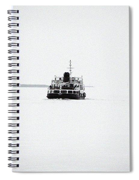 Liverpool. The Mersey Ferry 'royal Iris' Spiral Notebook