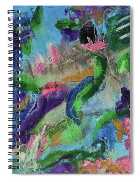 Living In Joyful Chaos Spiral Notebook