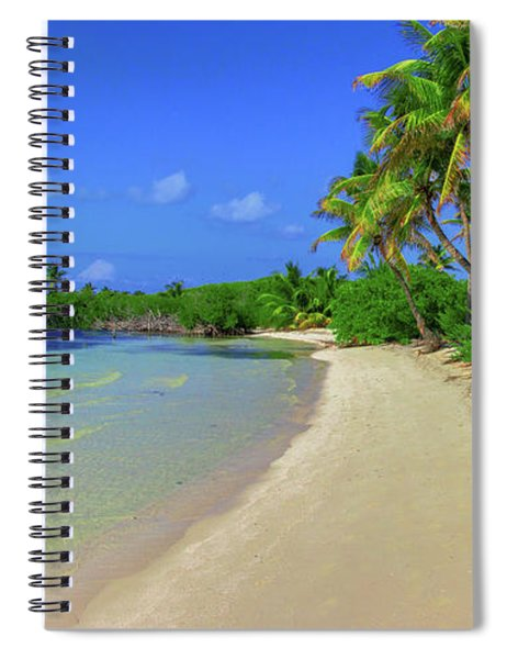 Living On An Island Spiral Notebook