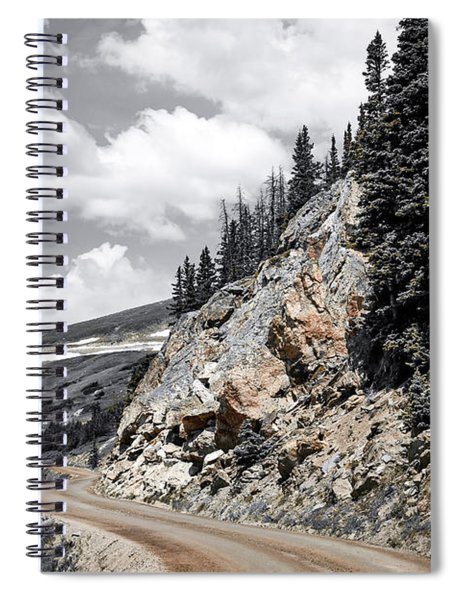 Living On The Edge Spiral Notebook