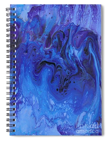 Living Water Abstract Spiral Notebook