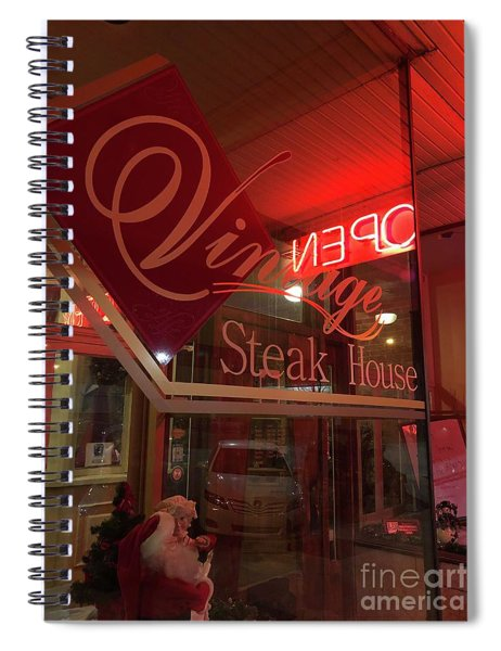 Local Eatery Spiral Notebook