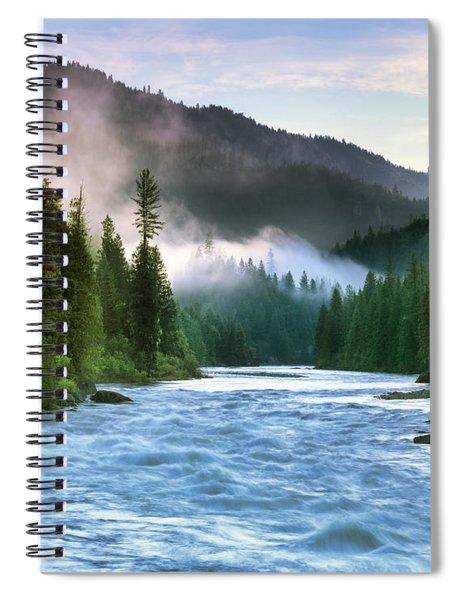 Lochsa River Spiral Notebook