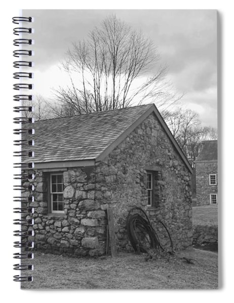 Lock House And Store - Waterloo Village Spiral Notebook