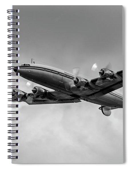 Lockheed Breitling Super Constellation  Spiral Notebook
