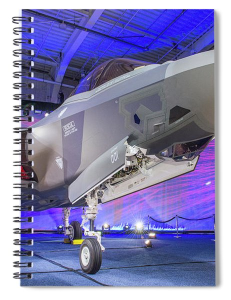 Lockheed Martin F-35a Lightning II Spiral Notebook