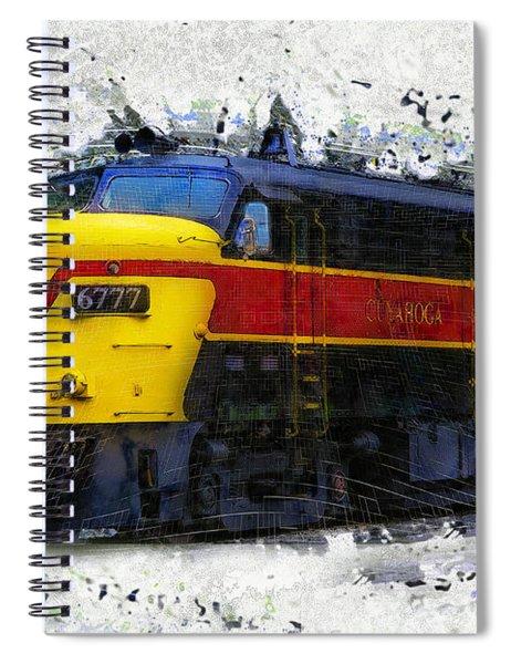 Loco #6777 Spiral Notebook