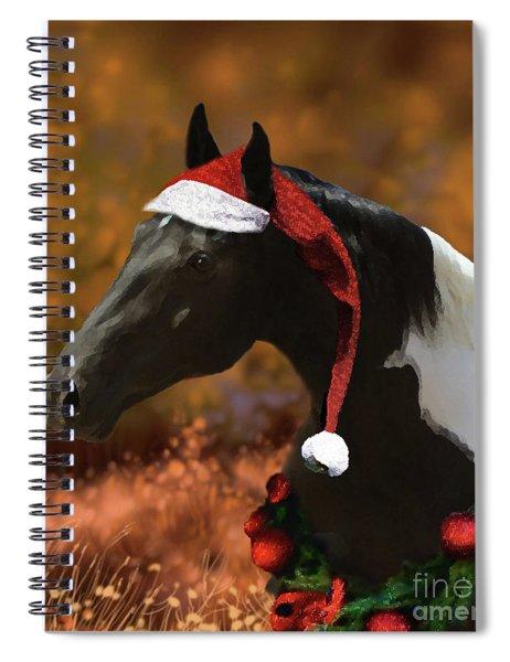 Logan's Christmas Spiral Notebook