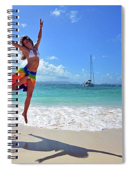 Lollick Frolic Spiral Notebook
