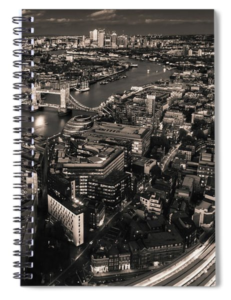 London At Night Spiral Notebook