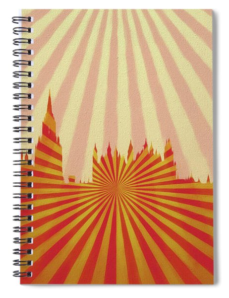 London Pop Art Spiral Notebook