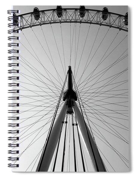 London_eye_i Spiral Notebook