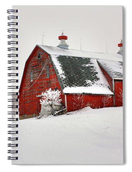 Lone Barn Spiral Notebook