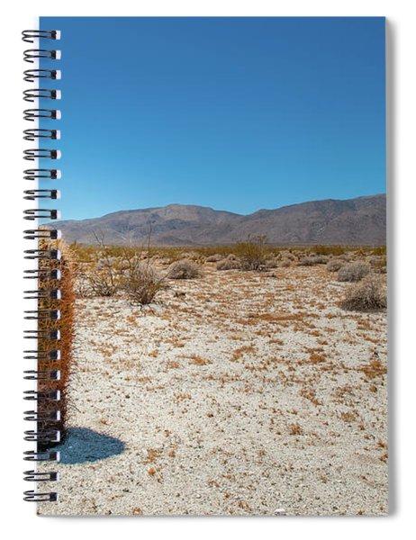 Lone Barrel Cactus Spiral Notebook