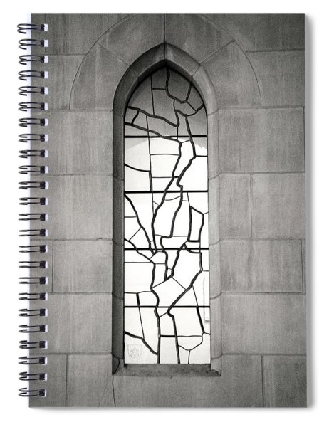 Lone Cathedral Window Spiral Notebook