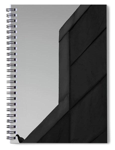 Lone Dove Spiral Notebook