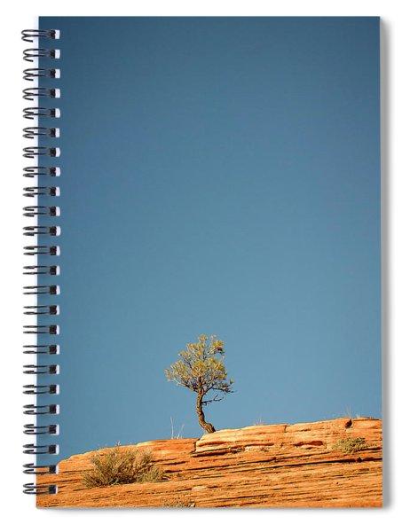 Lone Tree Big Sky Spiral Notebook