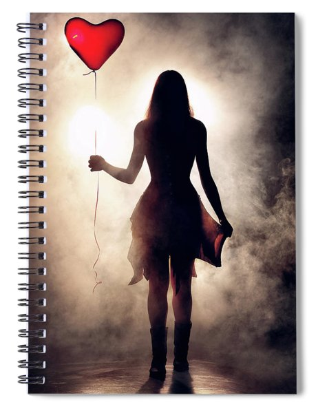 Lonely Heart Spiral Notebook