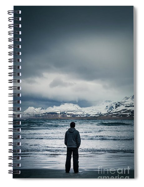 Lonely Seas Spiral Notebook