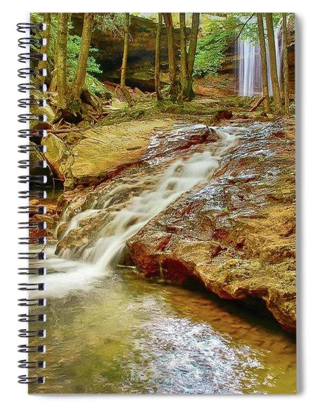 Long Falls Spiral Notebook