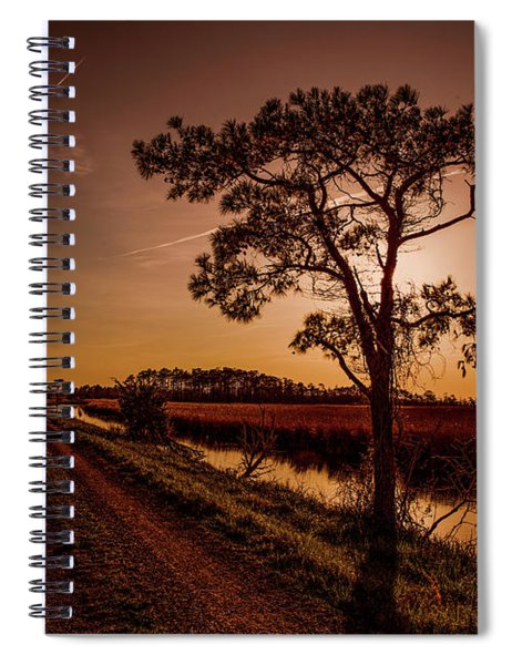 Long Road Home Spiral Notebook