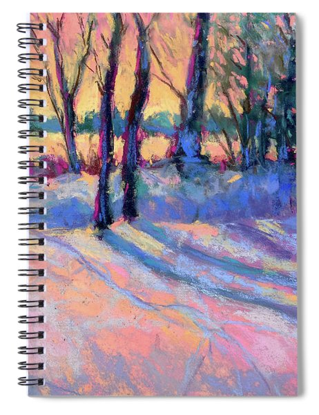 Longing For Spring Spiral Notebook