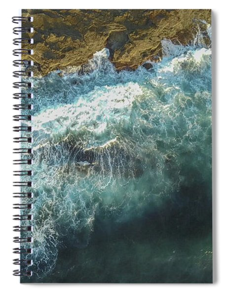 Longreef Waves Spiral Notebook