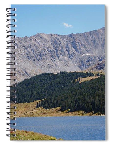 Longs Peak Colorado Spiral Notebook