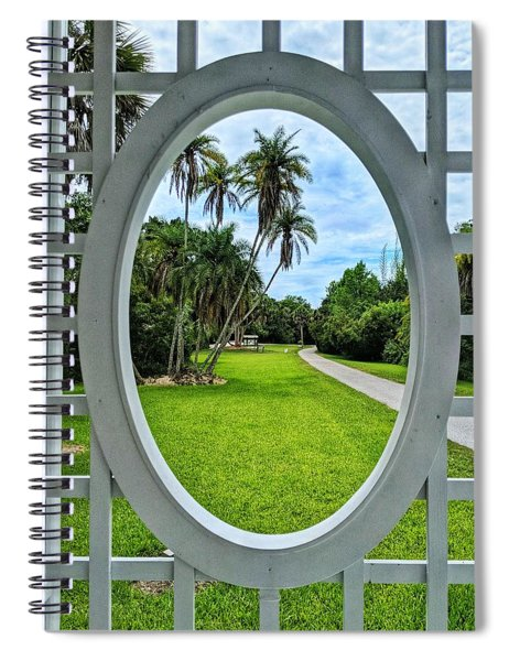 Look Here Spiral Notebook