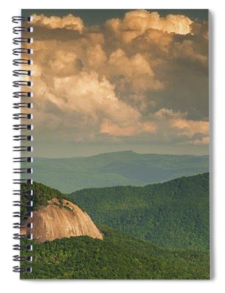 Looking Glass Rock At Sunset Spiral Notebook