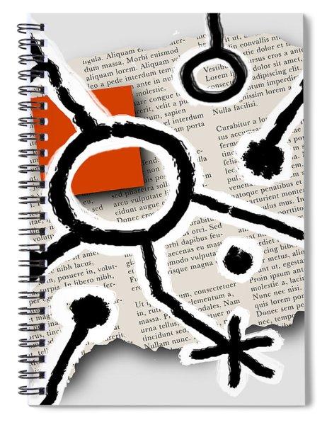Lorem Ipsum 2 Spiral Notebook