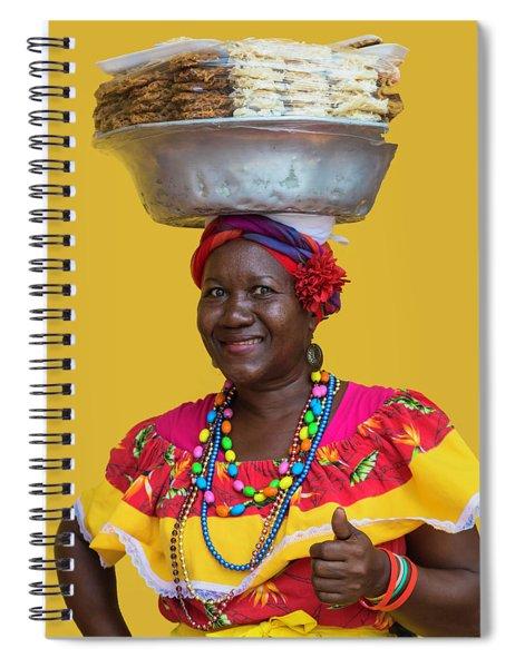 Los Palenques De Cartagena De Indias Spiral Notebook