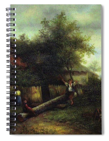 Lost Art Work By C. F. Williams Spiral Notebook