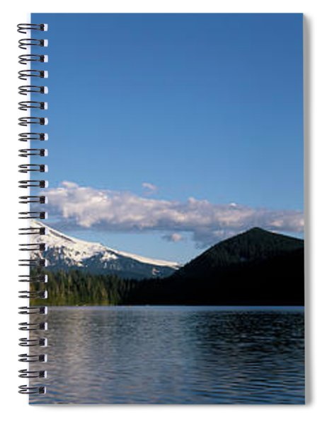 Lost Lake With Mount Hood Volcano Spiral Notebook