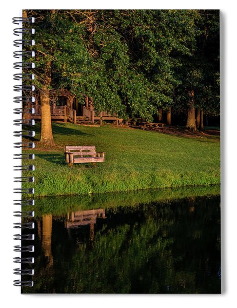 Lost Reflection Spiral Notebook