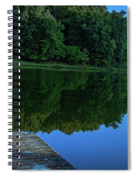 Lost Serenity  Spiral Notebook