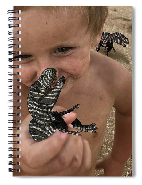 Lots Of These Snappy Critters Round Spiral Notebook