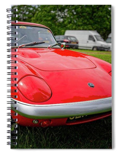 Lotus Elan Se S3 Coupe  Spiral Notebook