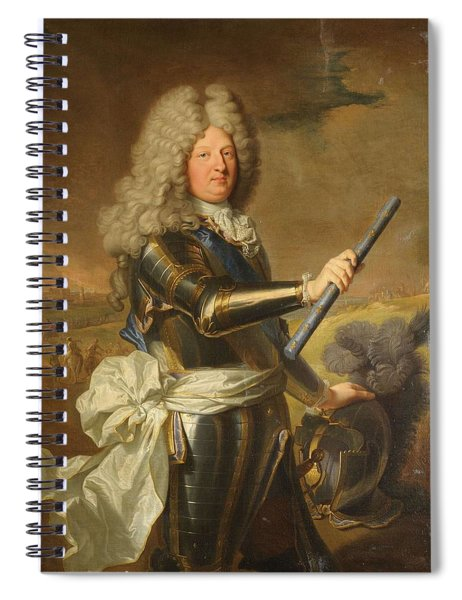 Louis De France  Dauphin              Dit Le Grand Dauphin  Spiral Notebook