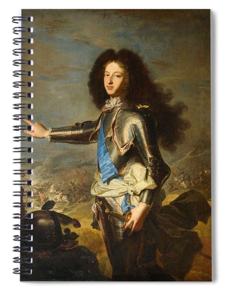 Louis Of France  Duke Of Burgundy              Spiral Notebook