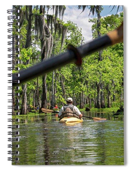 Louisiana Bayou Spiral Notebook