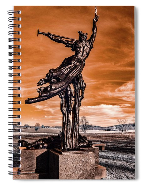 Louisiana Monument Spiral Notebook